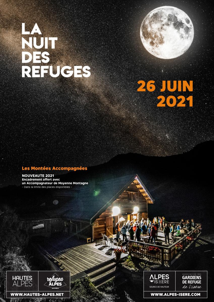 la nuit des refuges en isère 2021