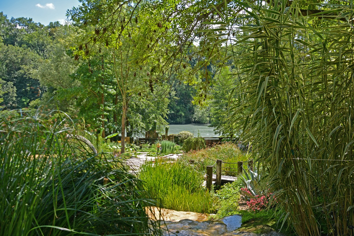 Le Jardin des fontaines pétrifiantes   Isère Tourisme