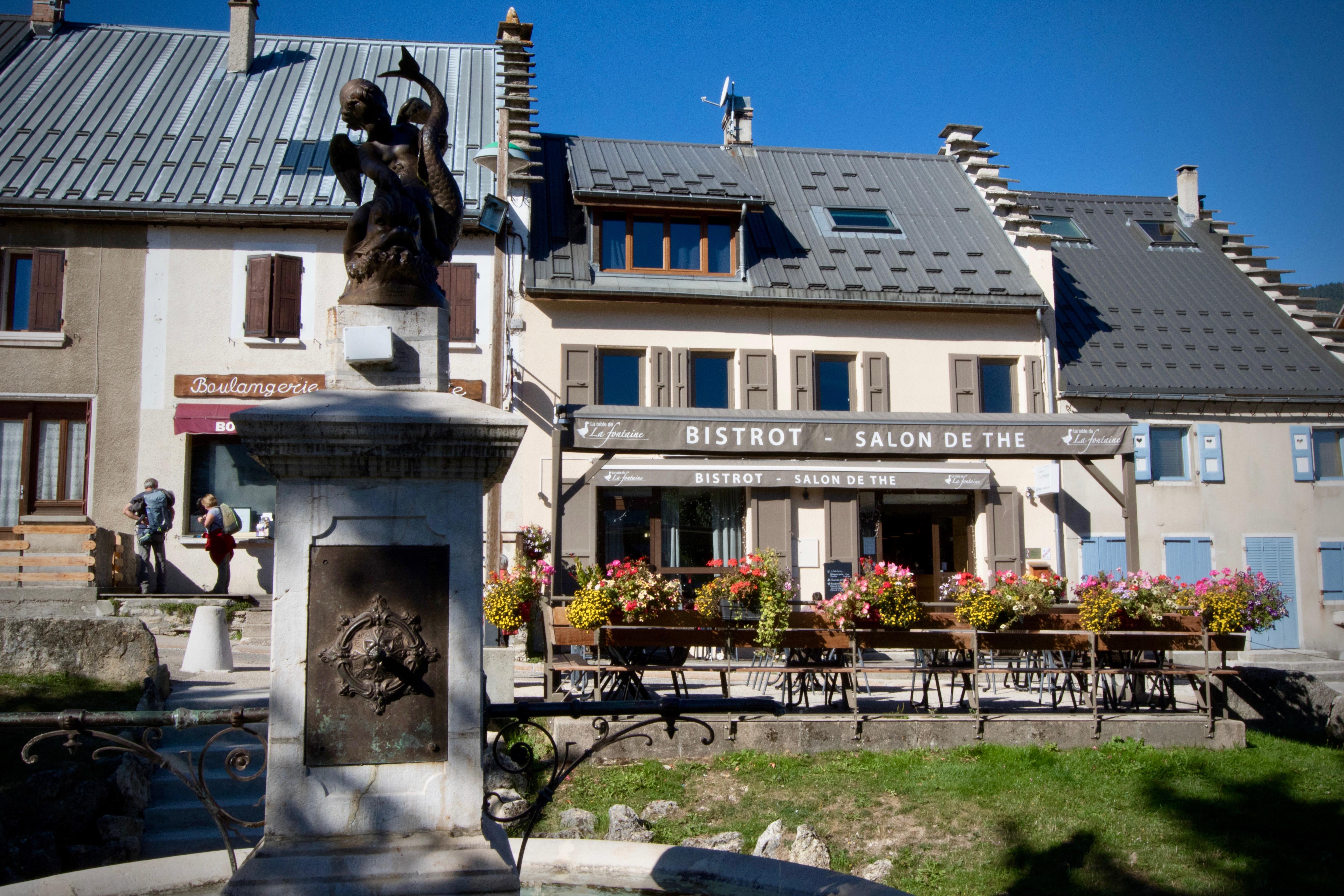 La Table De La Fontaine Isere Tourisme