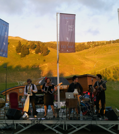 Photo concert 14 juillet Chamrousse