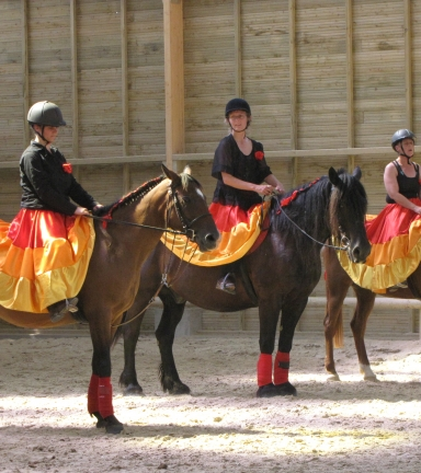 Stage d'équitation au Poney Club de Sardieu