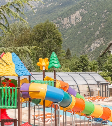 Camping Chateau de Rochetaille Bourg d'Oisans