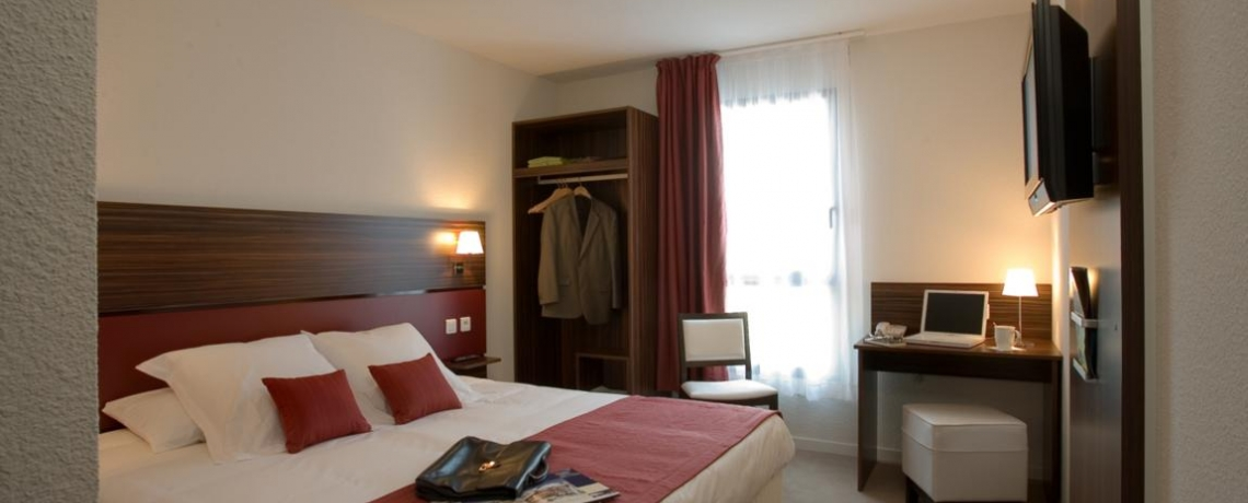 Best Western chambre rouge