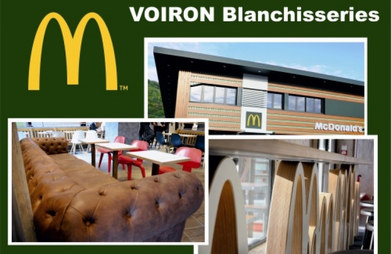 Mc Donald's les blanchisseries