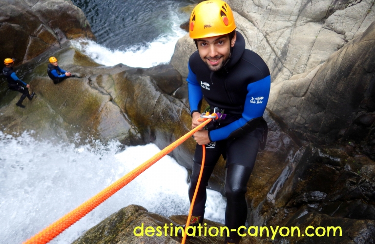 Canyoning avec Destination Canyon