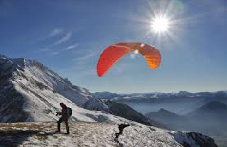 AIR BULLE : vol en Parapente