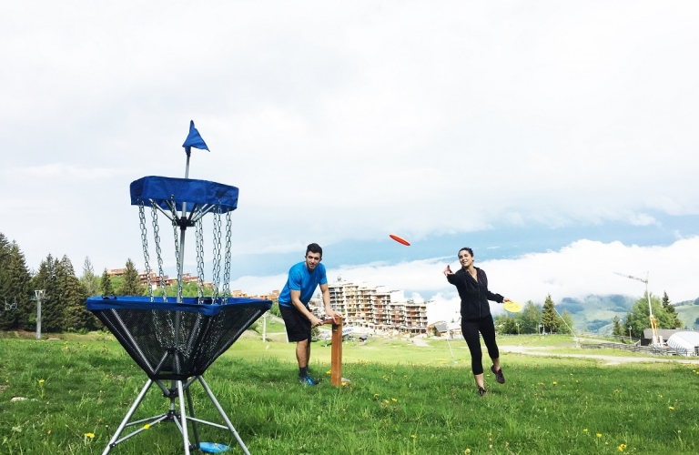 "Course d'Orientation ""Disc Golf"""