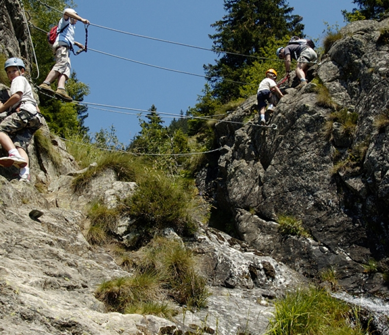 Via ferrata de la Cascade